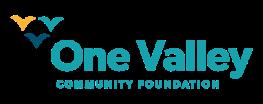 One Valley Community Foundation logo