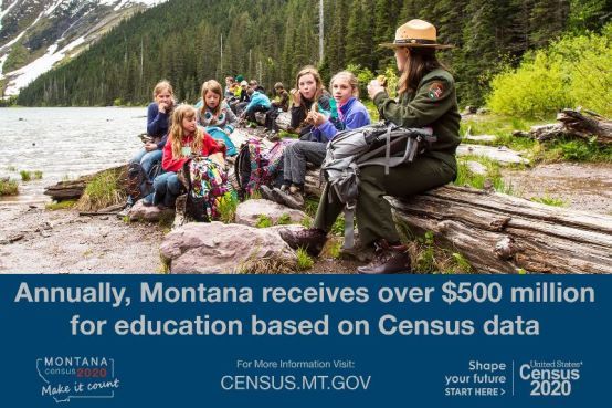 Montana receives $500 million for education based on Census Data