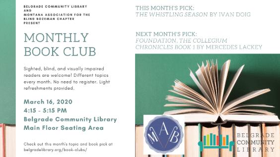 MAB Book Club Picks