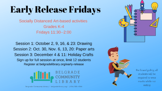Friday Early Release for Grades K-4