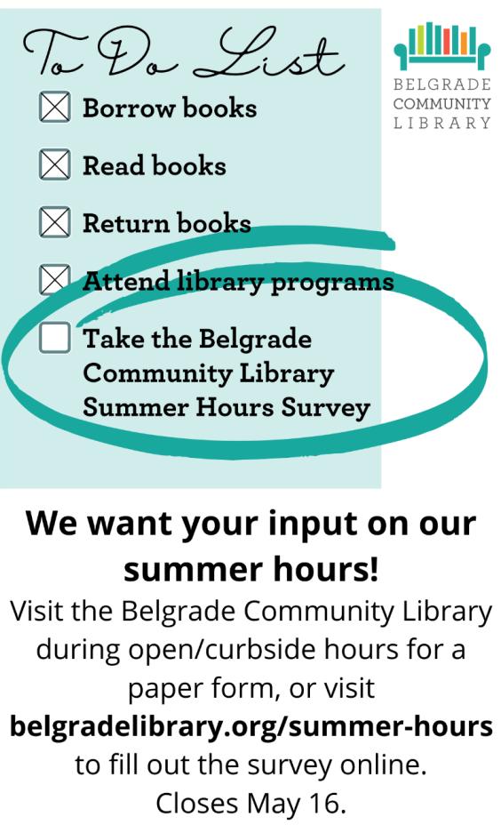 Summer Hours Survey