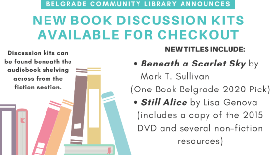 New Book Discussion Kits Available