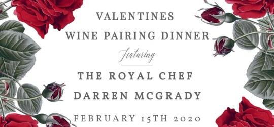 Valentines Wine Pairing Dinner