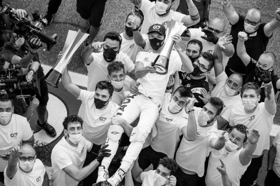 AlphaTauri wins the Italian Grand Prix