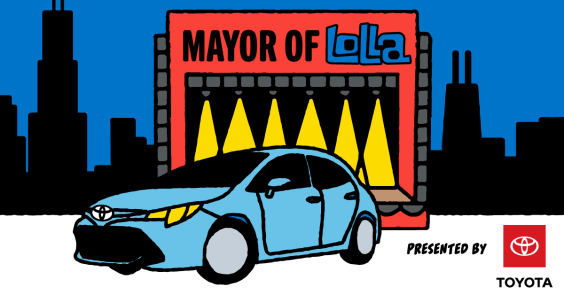 Enter to win Mayor of Lolla, presented by Toyota!