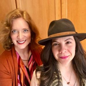 Andrea with Tatiana Astray