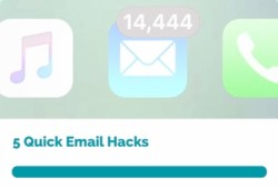 Talk About Talk 5 Quick Email Hacks online course sign-up
