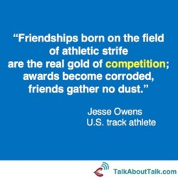 competition quote - Jesse Owens