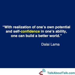 dalai lamai quote what is confidence