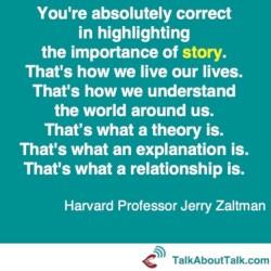 Jerry Zaltman on Stories