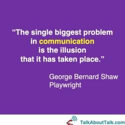 george bernard shaw listening quote