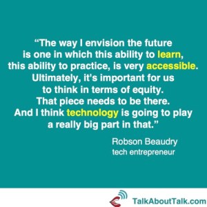 Robson Beaudry tech quote