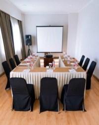 boardroom before online meetings