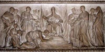 Henry IV apologizing