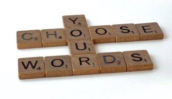 choose your words for your personal brand online