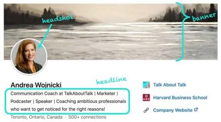 Andrea Wojnicki's LinkedIn profile