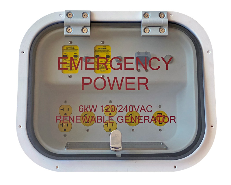 Envision Solar Emergency Power Panel