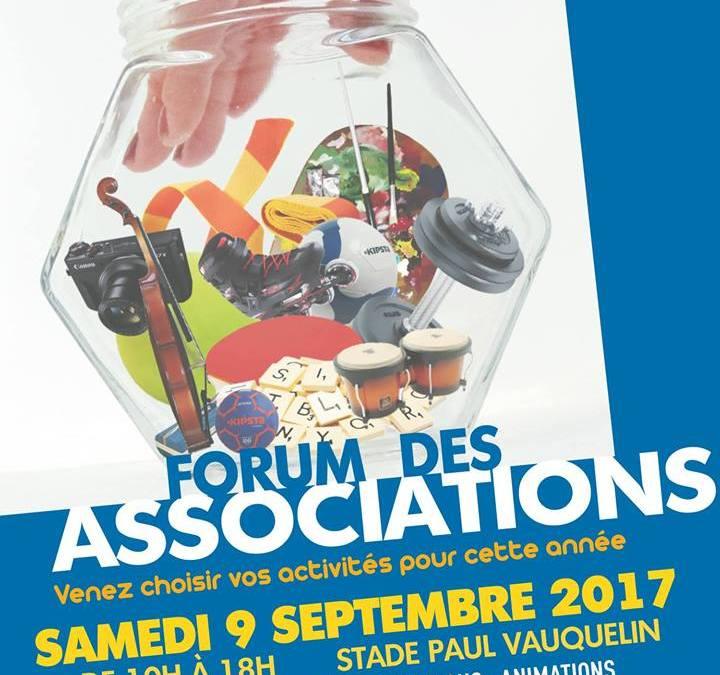 [Maromme] Forum des associations du Samedi 9 septembre 2017