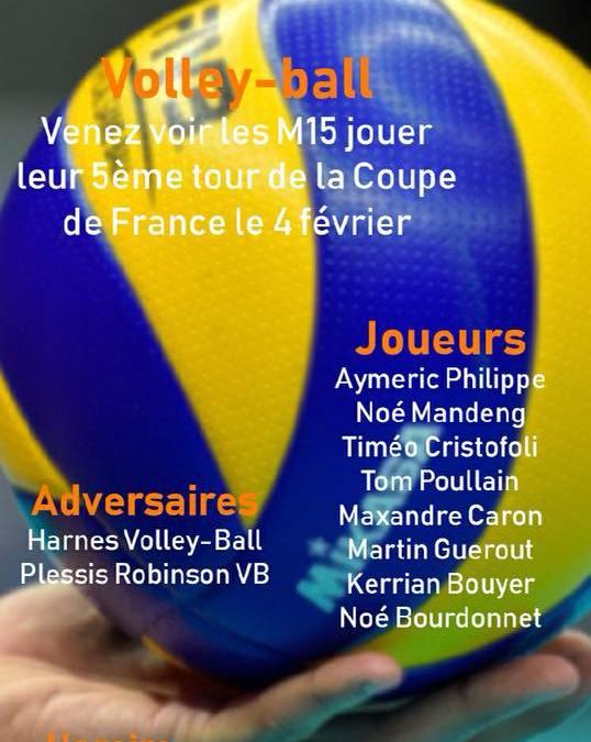 M15 Coupe de France Dimanche 4 février