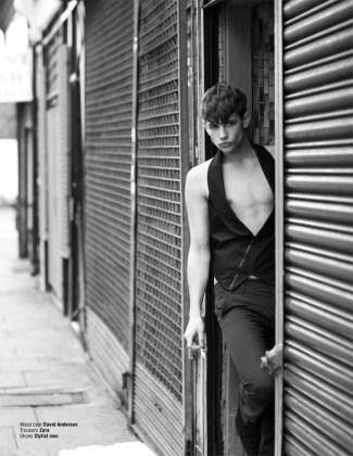 Dominic Nutt fotografiado por Cecilie Harris