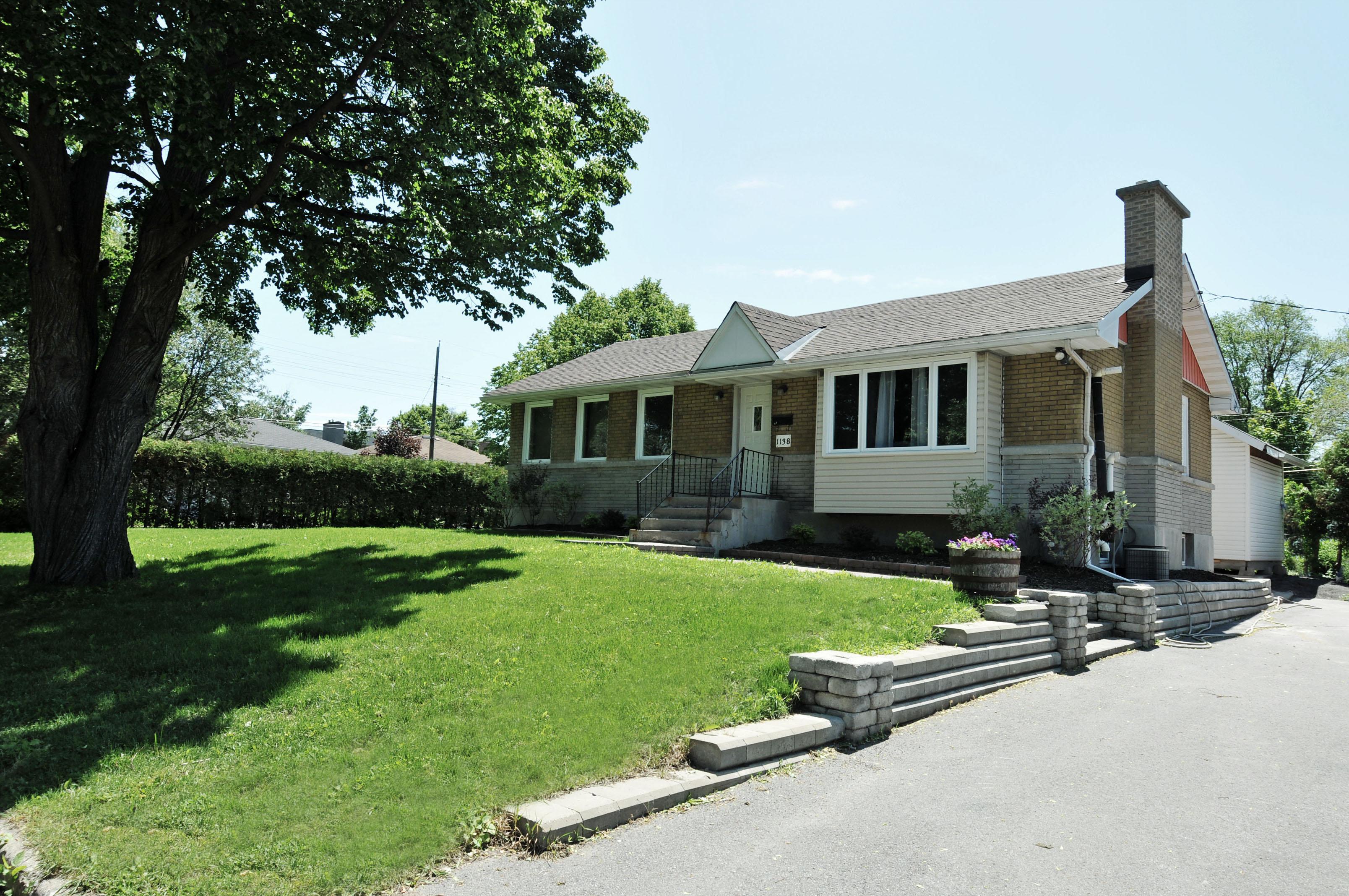 1138 Guertin Avenue brick bungalow