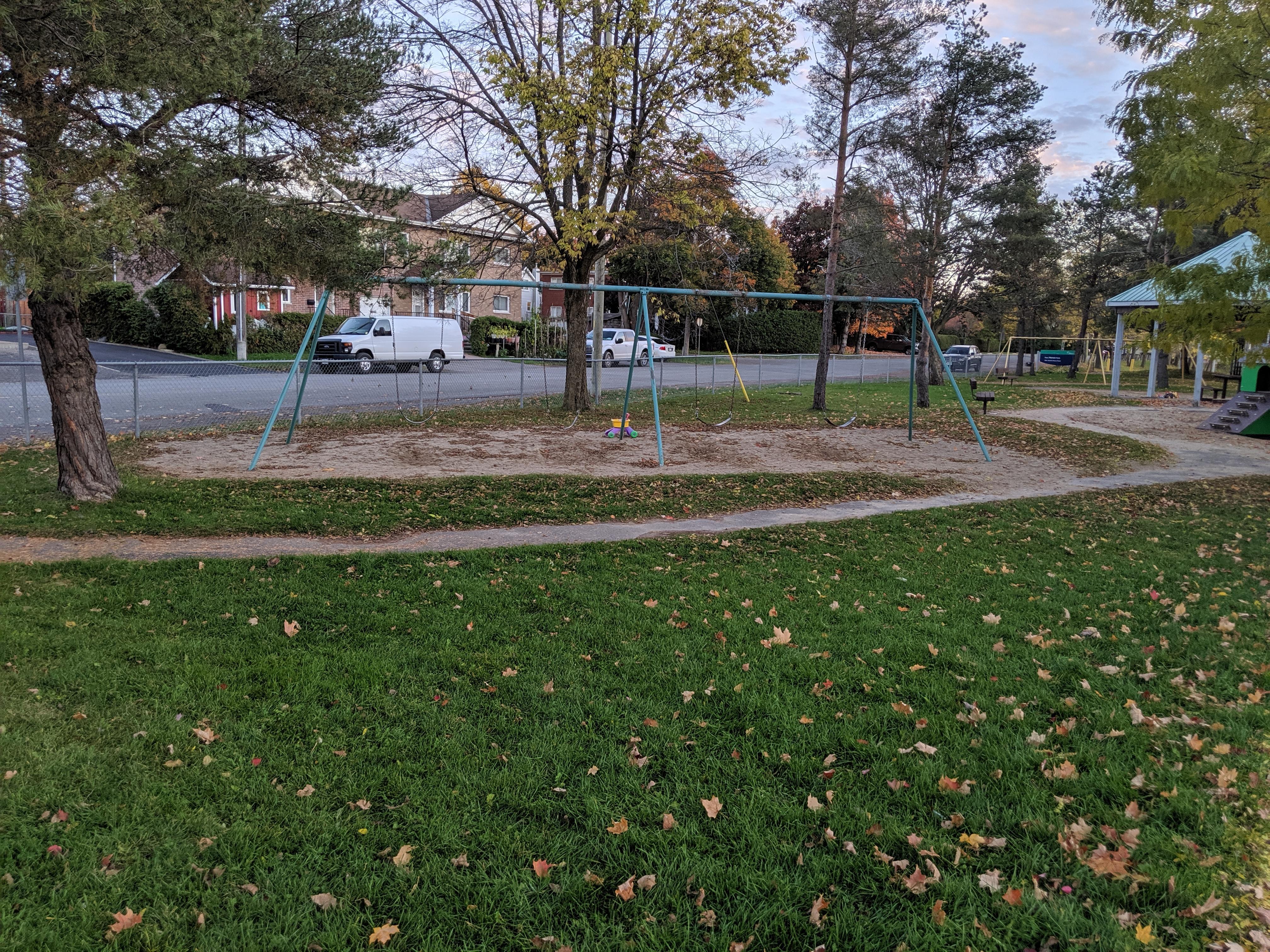 heron park swing set