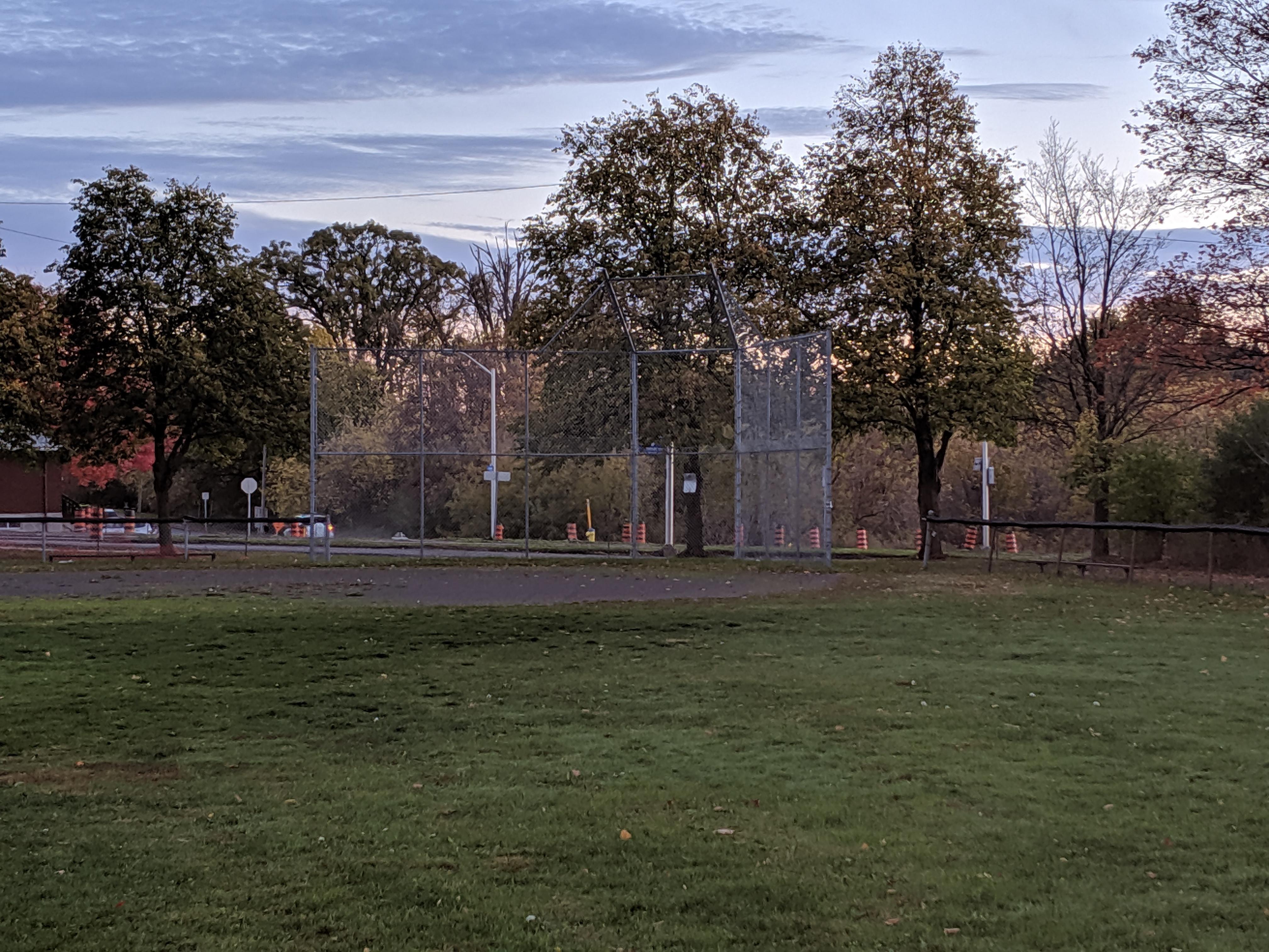 heron park baseball diamond