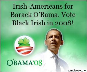 Vote for O'Bama!