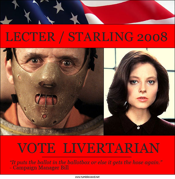 Vote Livertarian in 2008!