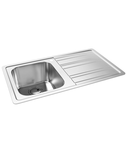 Abode Kode Stainless Steel Kitchen Sink 10 Bowl And Rh