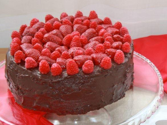 cobertura para torta de chocolate