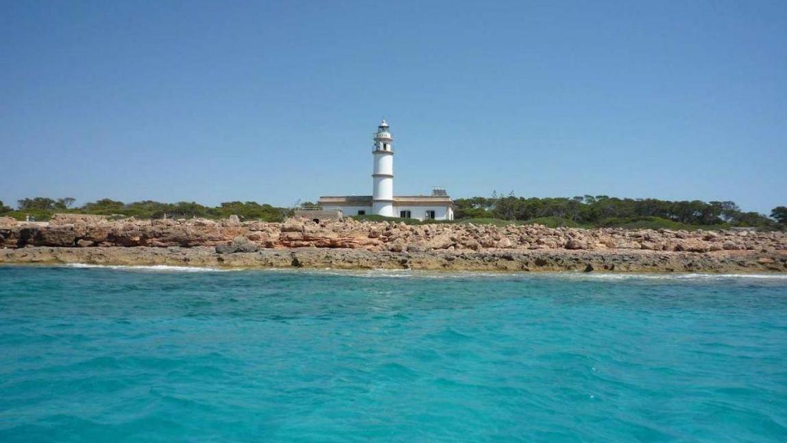 ses Salines lighthouse, Mallorca.