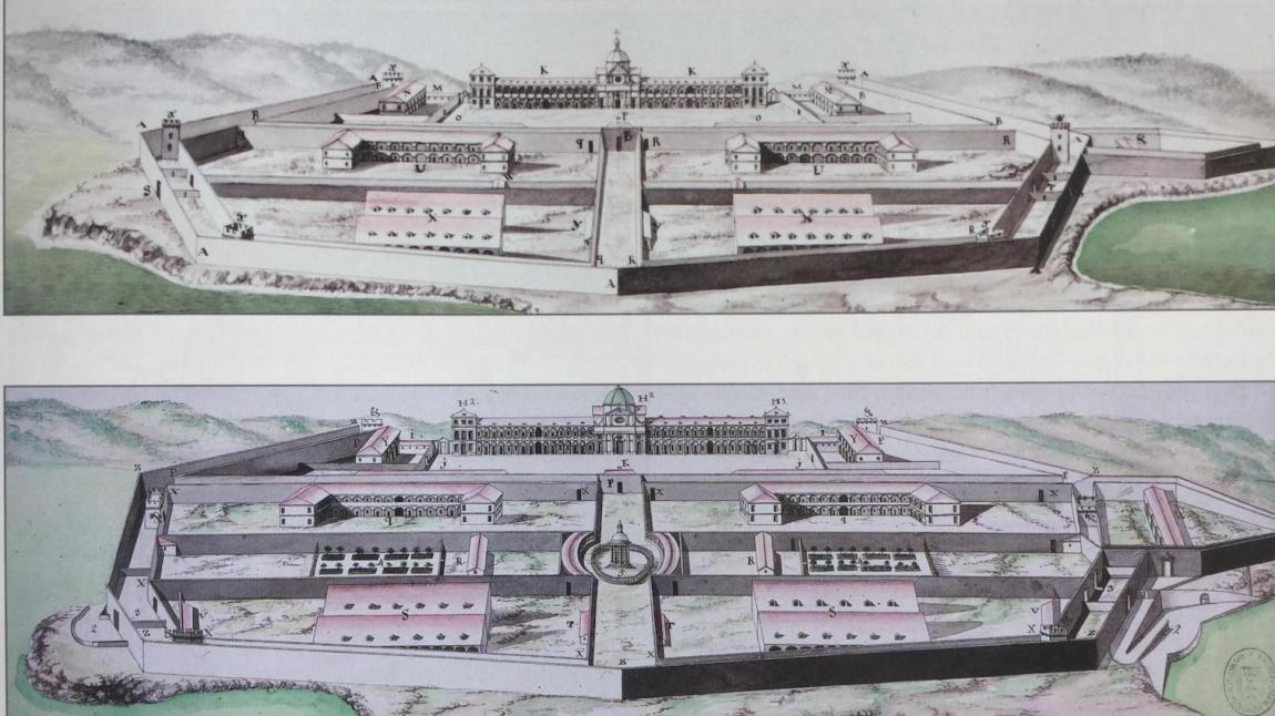 Images of Mahon hospital by Captain Francisco Fernández de Angulo.