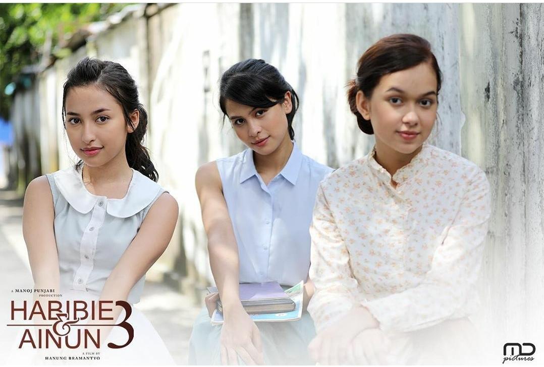 Tiga Pemeran Wanita di Film Habibie Ainun 3, Siapa Yang Kamu Kenal?