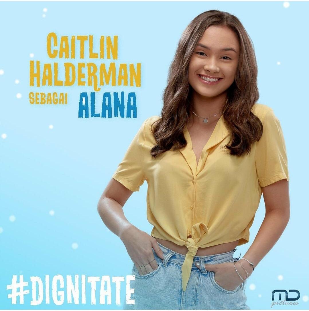 Caitlin Halderman Sebagai Alana, Pemeran Film Dignitate, MD Pictures