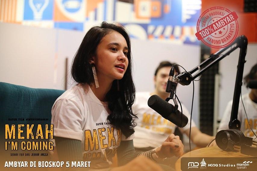 Michelle Ziudith Buat Ambyar Kaskus, Tungguin Kocaknya Mereka di Film Mekah Im Coming