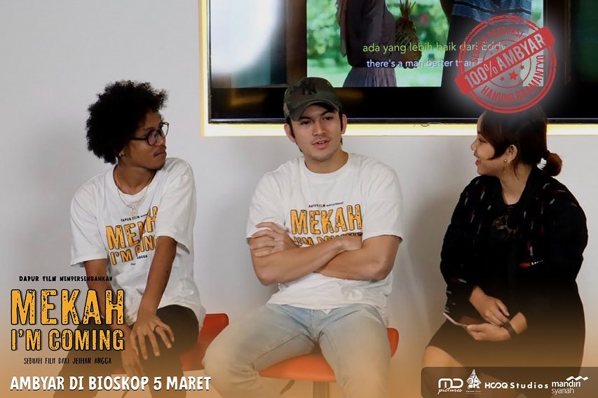 Pemeran Film Mekah Im Coming Ambyar Bareng di IDN Media