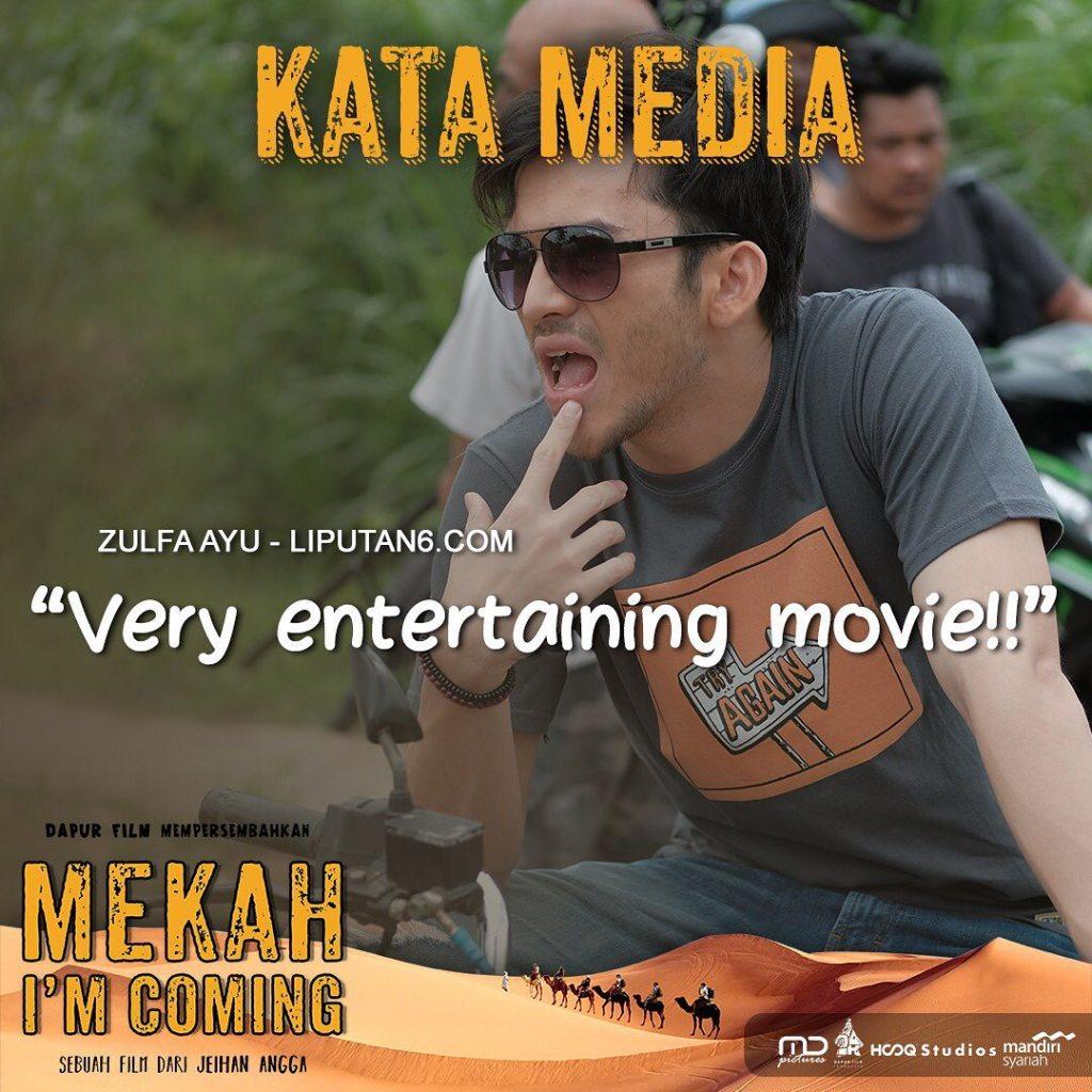 Very Entertaining Movie - Zulfa Ayu - Liputan6.com