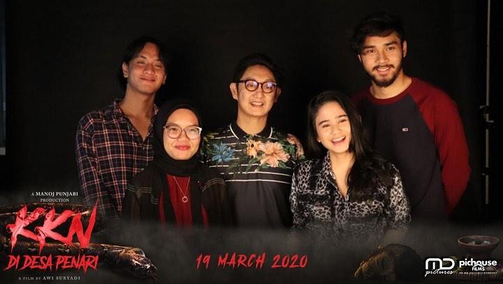 Sutradara, Penulis dan Pemain Film KKN di Desa Penari di The Jakarta Post