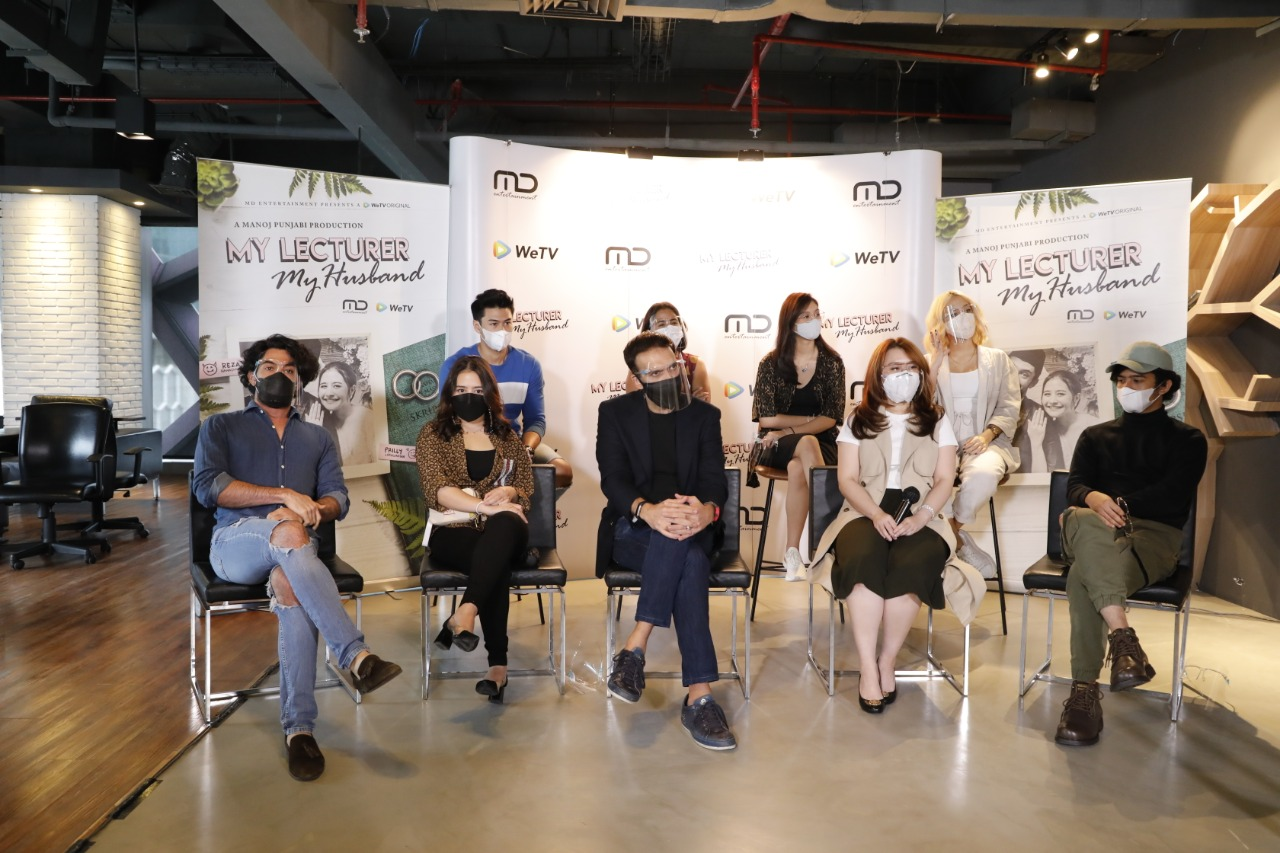 Press Conference My Lecturer My Husband Season 2