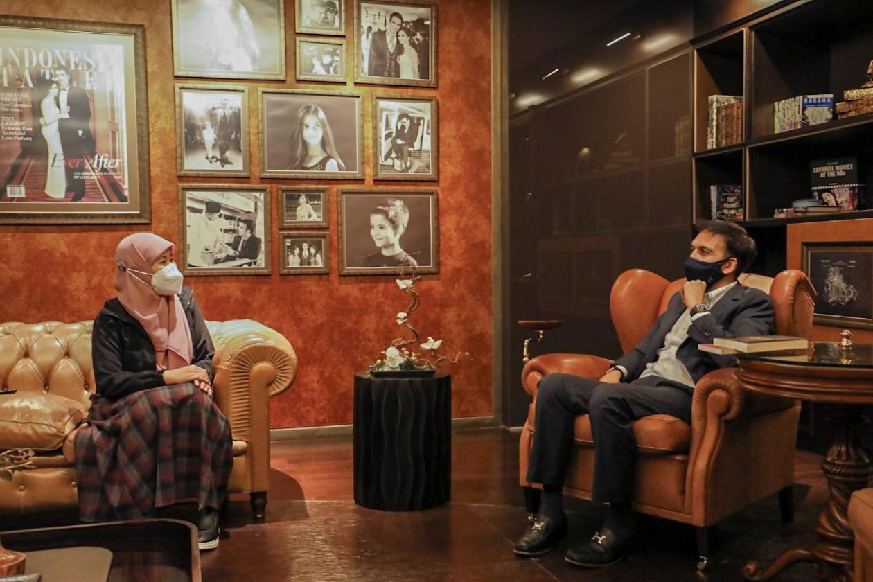Jadi setelah preview Surga Yang Tak Dirindukan 3 tadi, Asma Nadia puas nggak sama hasilnya?