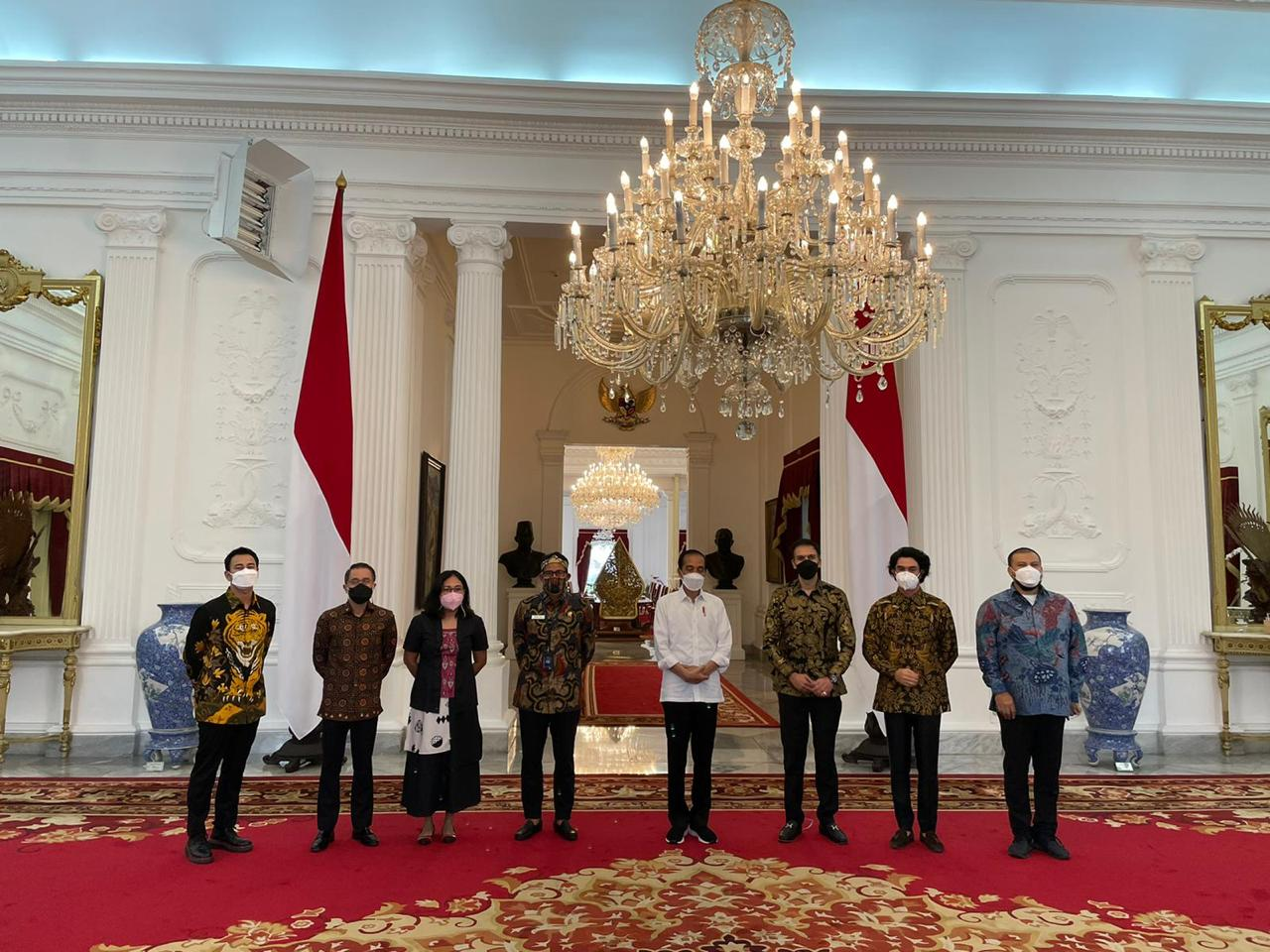 berdialog dengan Presiden @jokowi di Istana