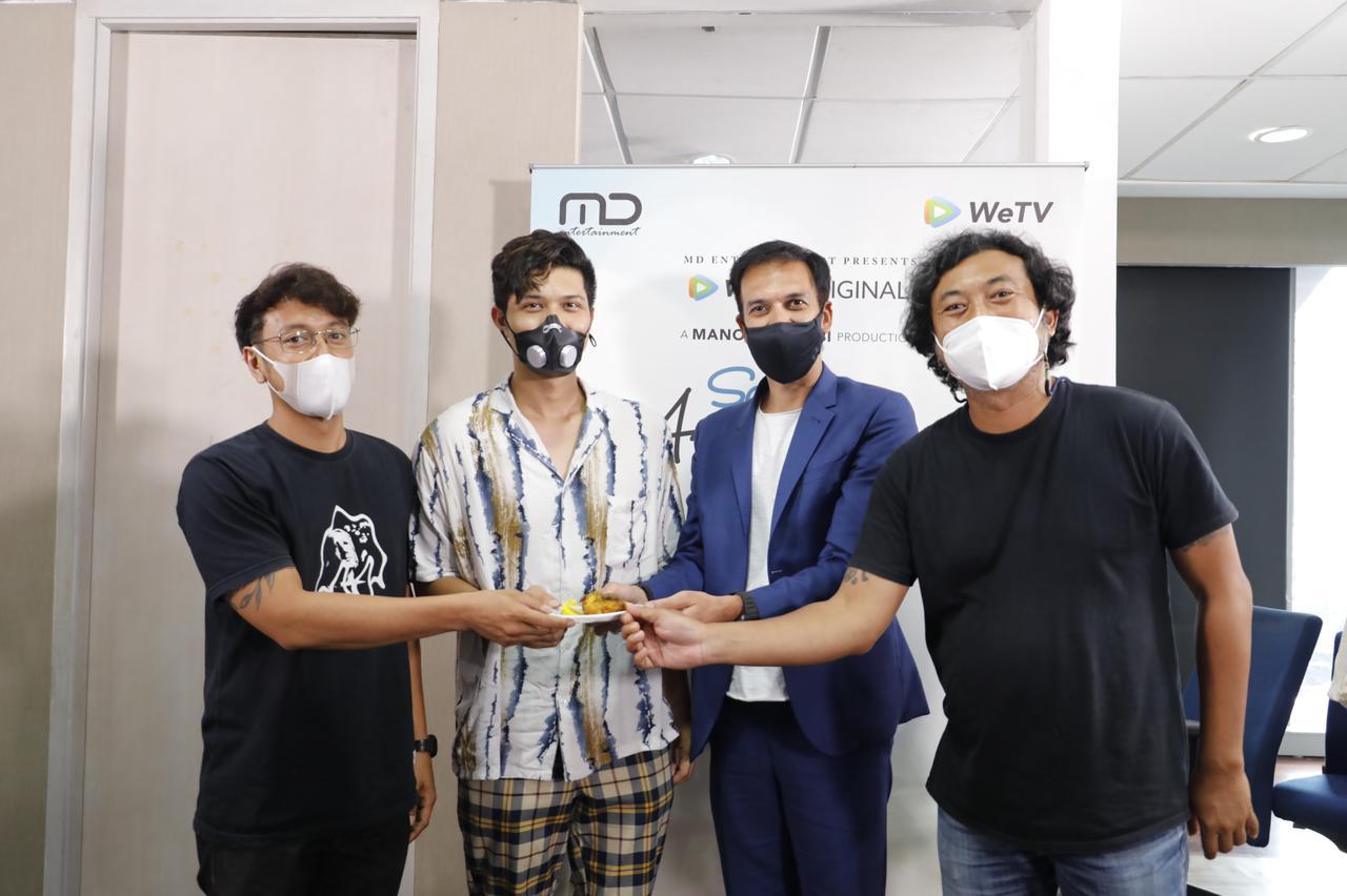 Syukuran series terbaru MD Entertainment, WeTV Original - Satu Amin Dua Iman, bersama sutradara dan pemain
