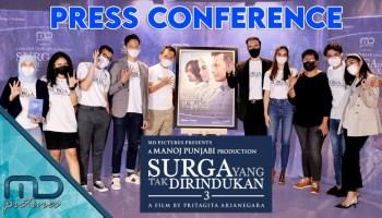 Surga Yang Tak Dirindukan 3 - Press Conference