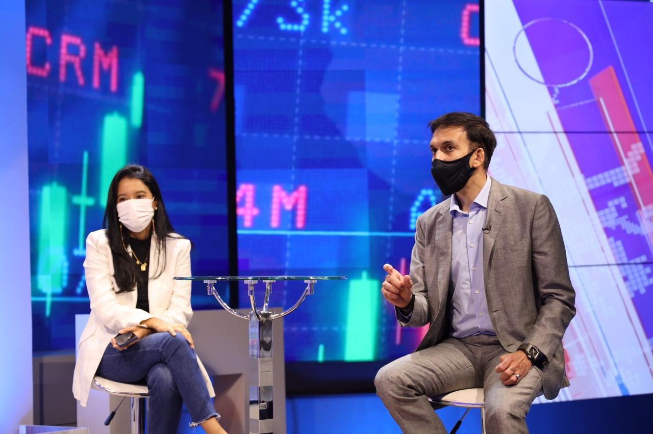 Diskusi malam di The Indonesia Economic Club, membahas 'Industri Kreatif Melawan Pandemi'