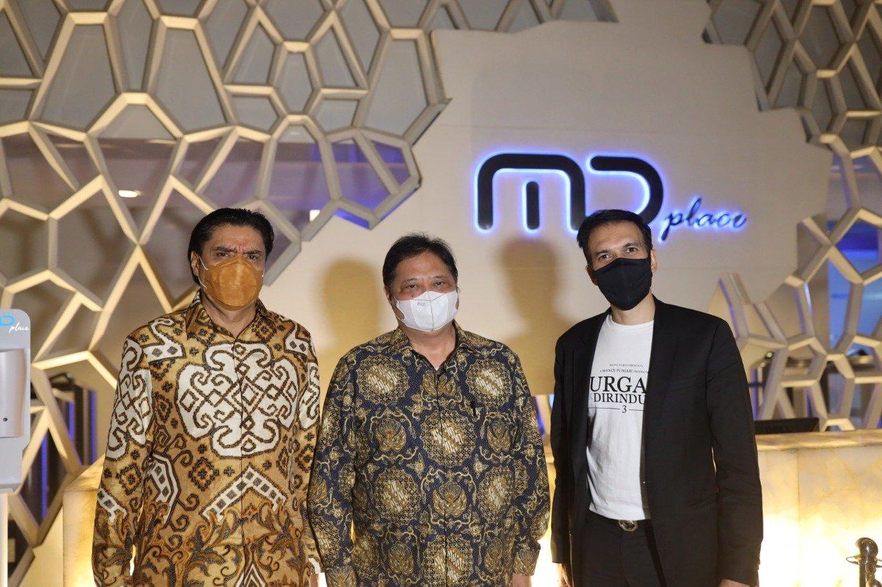 Terimakasih Pak Airlangga Hartarto sudah berkunjung ke MD Pictures