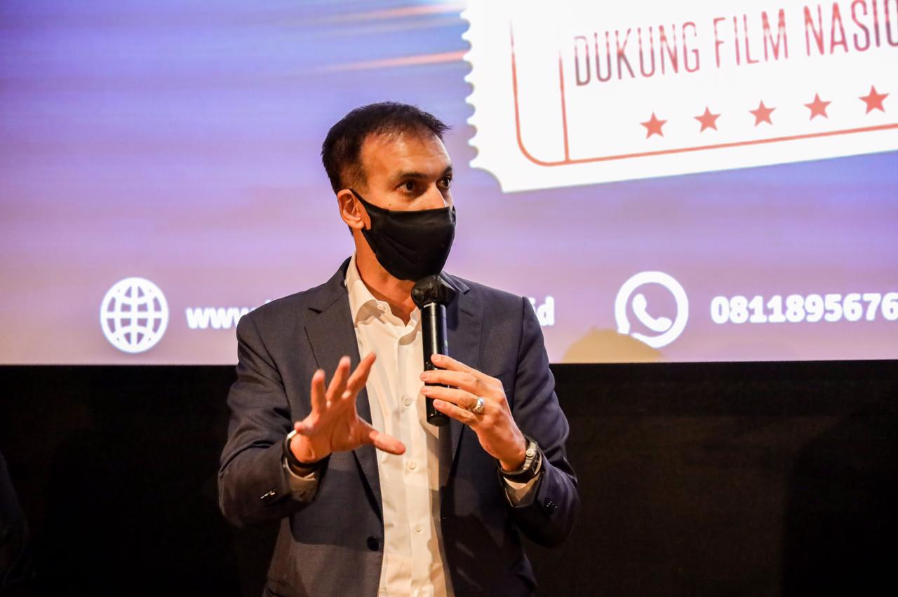 Terima kasih kepada Pak @sandiuno dan seluruh jajaran @kemenparekraf.ri atas acara sosialiasi Kembali Nonton di Bioskop