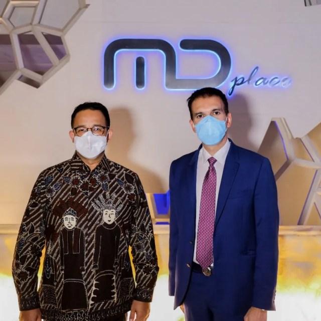 Terima kasih Pak Anies Baswedan atas kunjungannya. Dukung Terus Film Indonesia!
