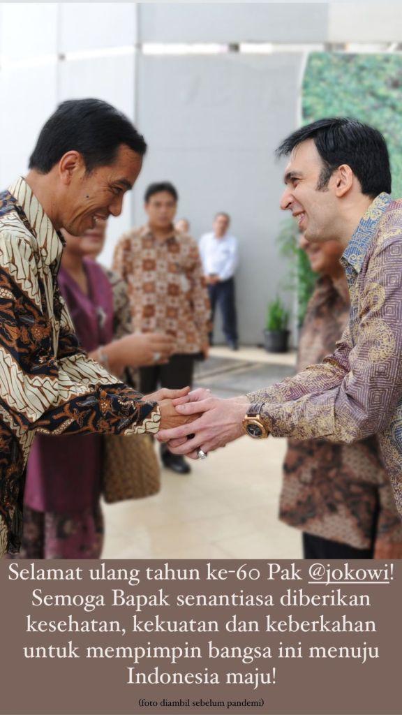 Selamat ulang tahun ke-60 Pak Jokowi!