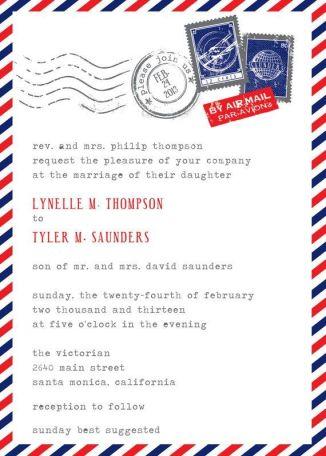 Invitación para cumpleaños temático de Postman Pat